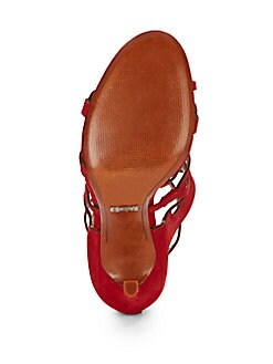 Onorina Cutout Leather Sandals