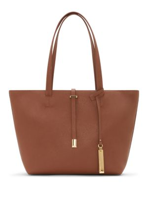 Leila Small Leather Tote
