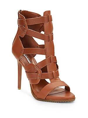 Eiffel Faux Leather Platform Sandals