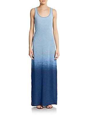 Indigo Jersey Maxi Dress