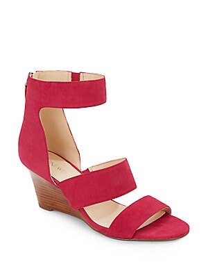 Risktaker Suede Wedge Sandals