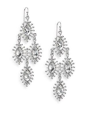 Sparkling Star Drop Earrings