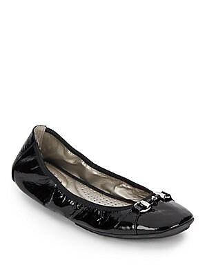 Legend Patent Leather Ballet Flats