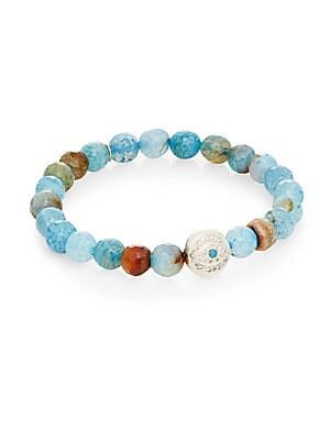 Boheme Agate & Sterling Silver Bracelet