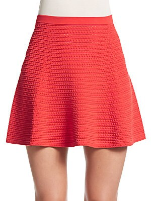 Rortie Textured Knit Skirt