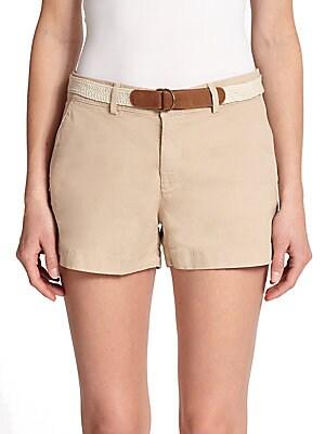 Jardin Solid Shorts