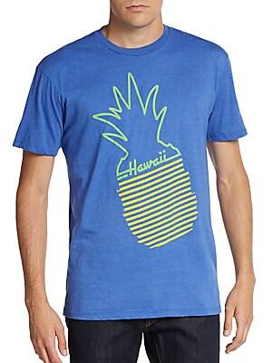 Hawaii Pineapple Graphic Tee
