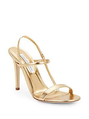 Ulla Metallic Leather Sandals