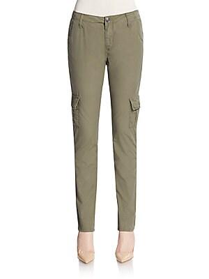 Celina Stretch Cotton Cargo Pants