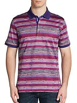 Real Designer Clothes For Cheap Sorong Jacquard Polo