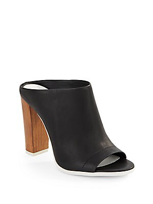Click here for Allison Leather Open-Toe Slides prices