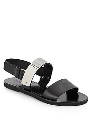 Ciara Metal Plate Sandals