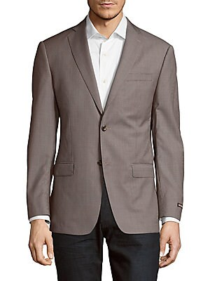 Long Sleeve Wool Coat