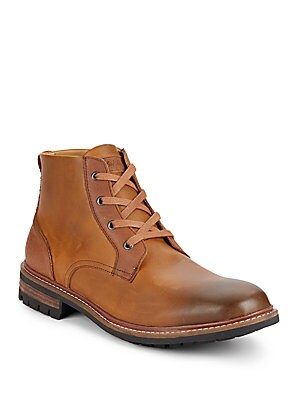 Darrell Leather Boots
