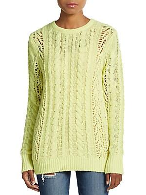 Amber Cashmere & Wool Crewneck Sweater
