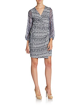 Sigourney Wrap Dress