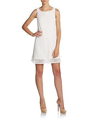 Crochet Lace Shift Dress