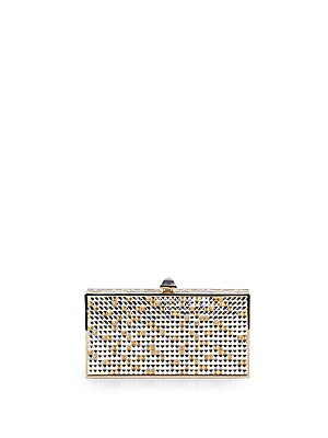 Perfect Rectangle Austrian Crystal Clutch