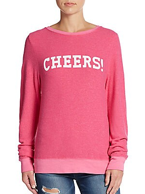 Cheers Graphic Pullover