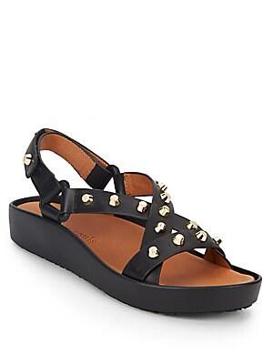 Metal Studden Sandals