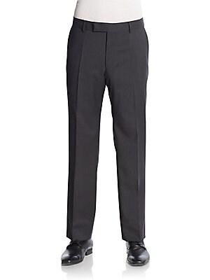 Jeffrey M?lange Virgin Wool Trousers