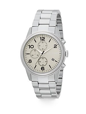 Chronograph Stainless Steel Bracelet Watch