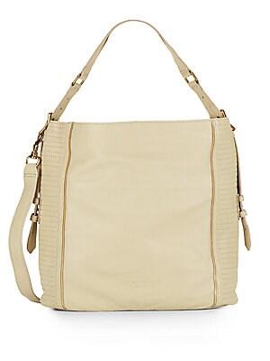 Elenor Leather Convertible Top-Handle Bag
