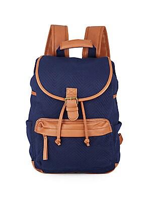 Bbenji Chevron Jacquard Backpack