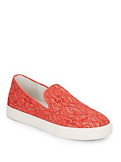 Illusion Lace Slip-On Sneakers