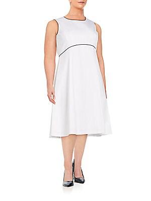 Shawn Cotton & Linen Dress