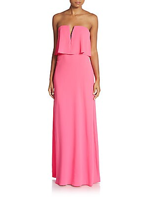 Strapless Popover Gown