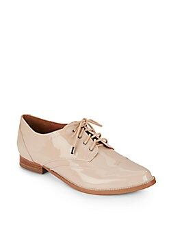 Maya Patent Leather Wingtip Oxfords