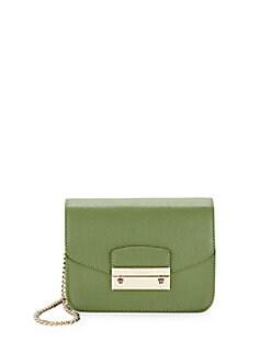 $149.99 Furla Julia Mini Saffiano Leather Crossbody @ Saks Off 5th