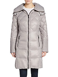 Quilted Down Nylon Puffer