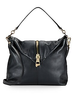 Leather Envelope Convertible Bag