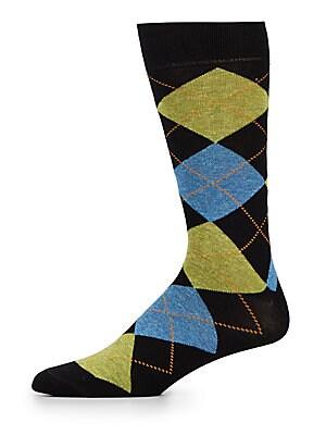 Argyle Cotton Socks