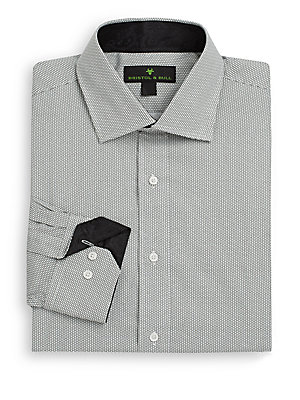 Circle-Print Shirt