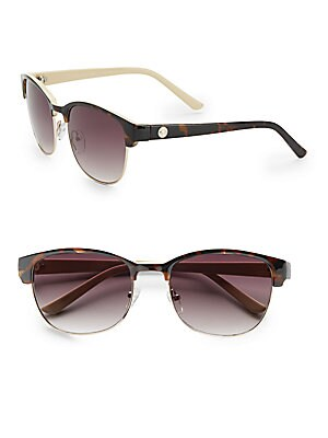 56MM Modern Square Sunglasses