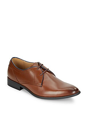 Mister Leather Derby Shoes