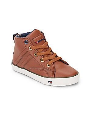 Boy's Dennis High-Top Sneakers