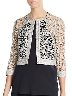 Sequined Lace Jacket