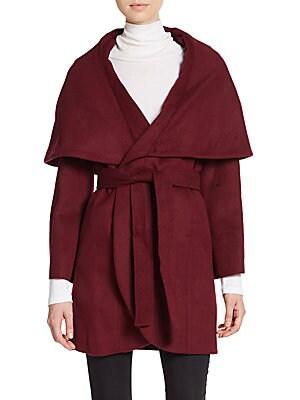 Marla Wool-Blend Coat
