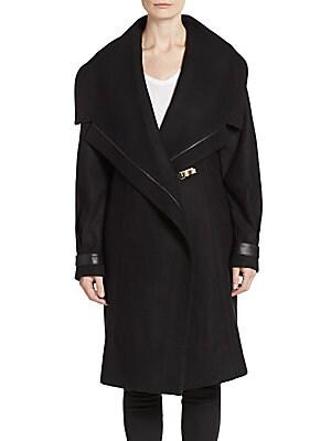 Manila Wool-Blend Coat