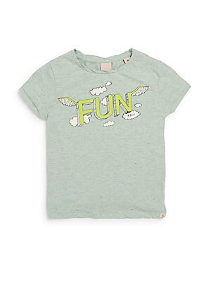 Little Girl's & Girl's Fun Graphic Tee