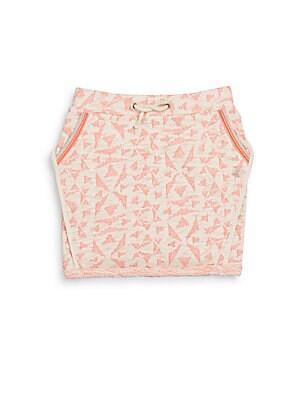 Little Girl's & Girl's Knit Skirt