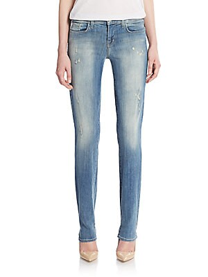 Jude Distressed Slouchy Skinny Jeans