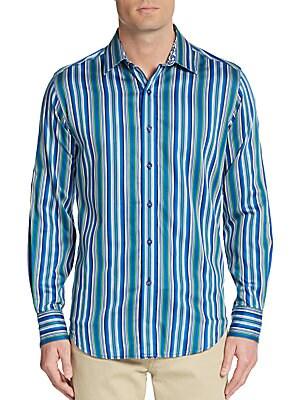 Classic-Fit Crookstown Cotton Sportshirt