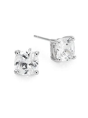 Prong-Set Stud Earrings