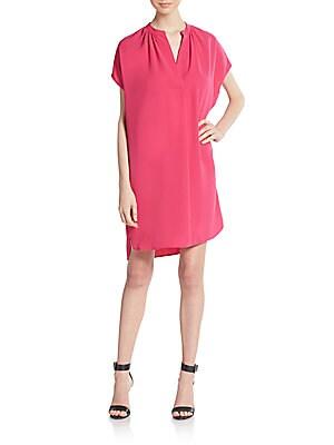Crepe Popover Dress