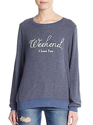 Weekend Graphic Sweatshirt